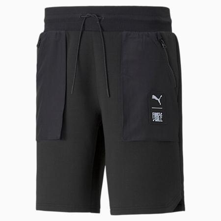 Shorts cargo de tejido doble PUMA x FIRST MILE para hombre, Puma Black, pequeño