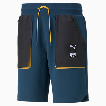 Shorts cargo de tejido doble PUMA x FIRST MILE para hombre, Intense Blue, pequeño