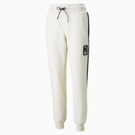 푸마 x 퍼스트 마일 Double Knit 조거 팬츠/First Mile Jogger Pants DK, Ivory Glow, small-KOR