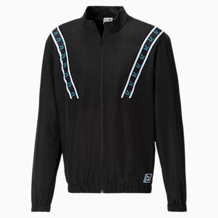 Woven Men's Track Jacket, Puma Black, small