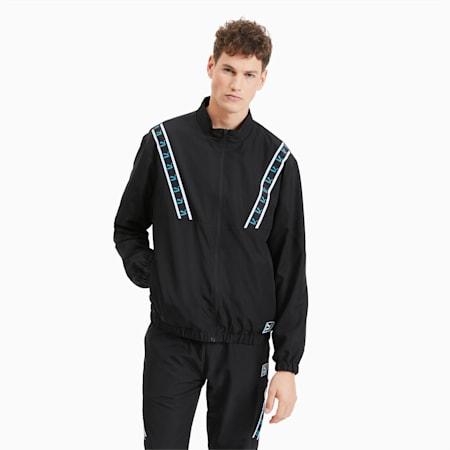 Chaqueta deportiva tejida para hombre, Puma Black, small