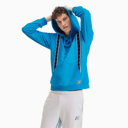 Sudadera con capucha para hombre, Atomic Blue, small