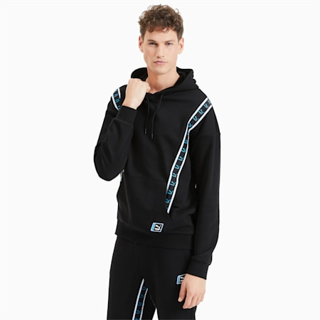 Men's Hoodie, Puma Black, small