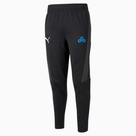 Pantalones deportivos PUMA x CLOUD9 Esports para hombre, Puma Black-Puma Black, pequeño