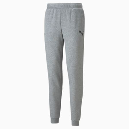 Pantalones deportivos PUMA x CLOUD9 Essentials Esports para hombre, Medium Gray Heather, pequeño