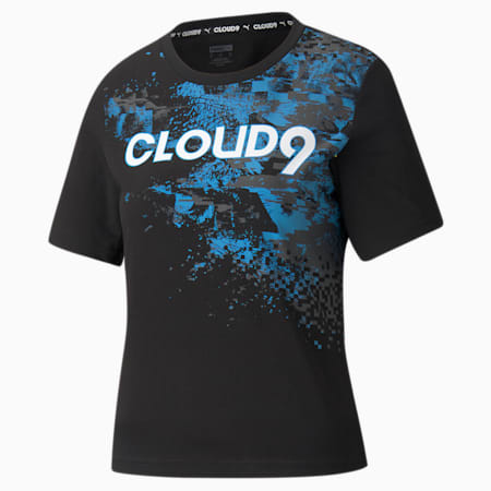 T-shirt graphique Esports PUMA x CLOUD9, femme, Puma Black, petit