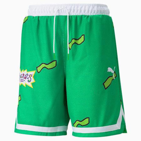 PUMA x RUGRATS バスケットボール ショーツ, Classic Green, small-JPN