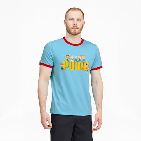 Camiseta parabásquetbolmanga corta PUMA x RUGRATSpara hombre, Petit Four, pequeño