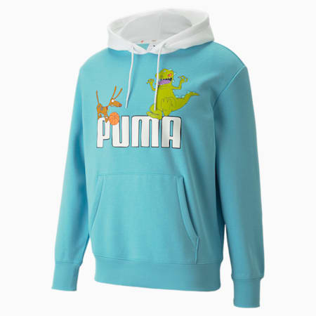 PUMA x RUGRATS Men's Basketball Hoodie, Petit Four, small-GBR
