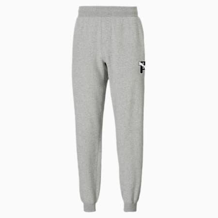 Pantalones deportivos PUMA x PUMA, Light Gray Heather, pequeño