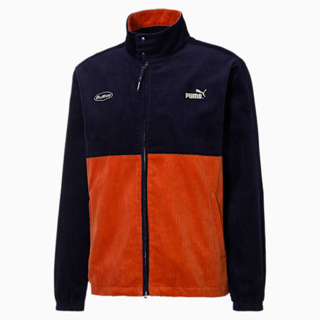 PUMA x BUTTER GOODS Track Top, Peacoat, small