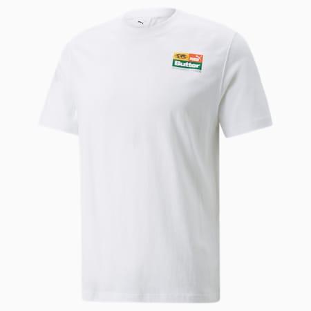 푸마 x BUTTER GOODS Graphic 티셔츠/PUMA x BG Graphic Tee, Puma White, small-KOR