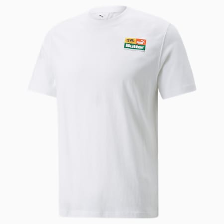 T-shirt graphique PUMA x BUTTER GOODS, Blanc Puma, petit