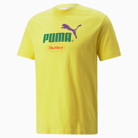 PUMA x BUTTER GOODS Graphic Tee, Maize, small-SEA