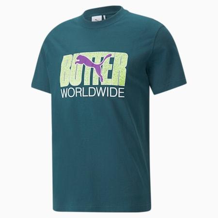 T-shirt graphique PUMA x BUTTER GOODS, Sarcelle profond, petit