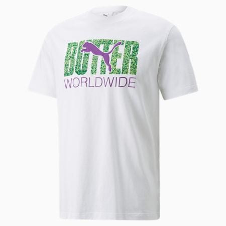 PUMA x BUTTER GOODS グラフィック Tシャツ ユニセックス, Puma White-Sharp Green, small-JPN