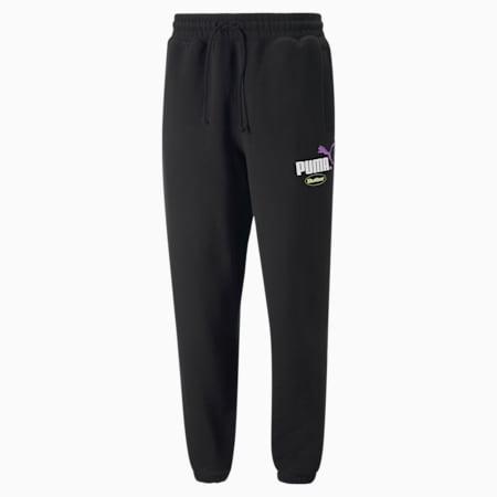 PUMA x BUTTER GOODS Sweatpants, Puma Black, small-SEA