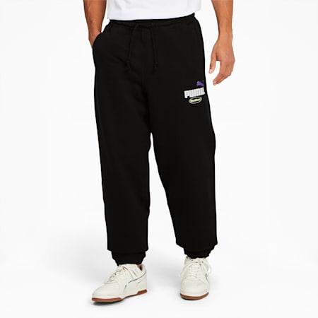 PUMA x BUTTER GOODS Sweatpants, Puma Black, small-GBR