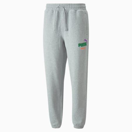 Pantalones deportivos PUMA x BUTTER GOODS, Light Gray Heather, pequeño