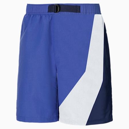 PUMA x BUTTER GOODS Shorts, Baja Blue-.AOP, small