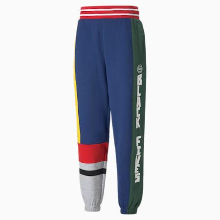 Pantalon en molleton de basketball Black Fives Hoopmen, homme, Bleu profond, petit
