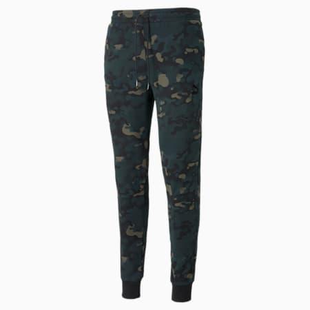 Pantalones de felpa estampados CG para hombre, Grape Leaf, pequeño
