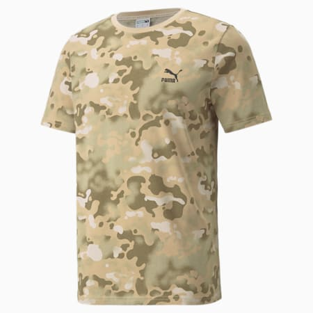 Camiseta estampada Classics para hombre, Pebble, pequeño