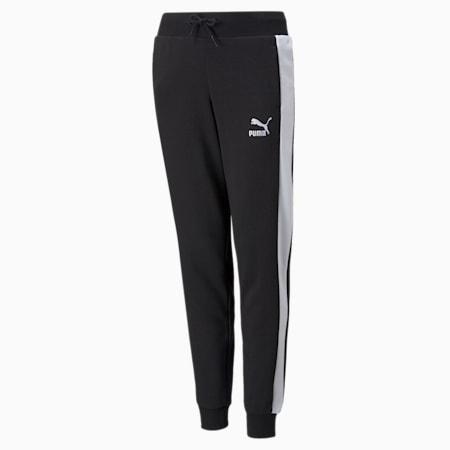 Młodzieżowe spodnie dresowe Classics T7, Puma Black, small