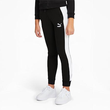 Pantalon de survêtement Classics T7, fille, Puma Black, petit