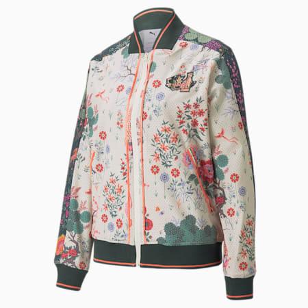 PUMA x LIBERTY Women's Track Jacket, Birch-AOP, small-IND