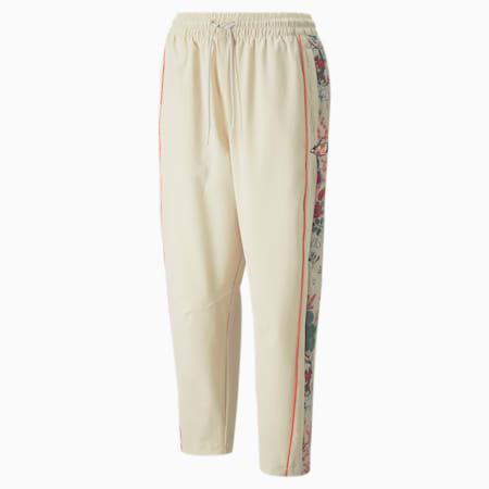 Damskie spodnie dresowe PUMA x LIBERTY z nadrukiem, Birch, small