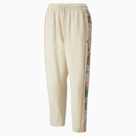 Pantalones de deporte estampados para mujer PUMA x LIBERTY, Birch, small