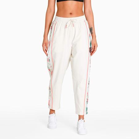 PUMA x LIBERTY Women's Loose Track Pants, Birch, small-IND