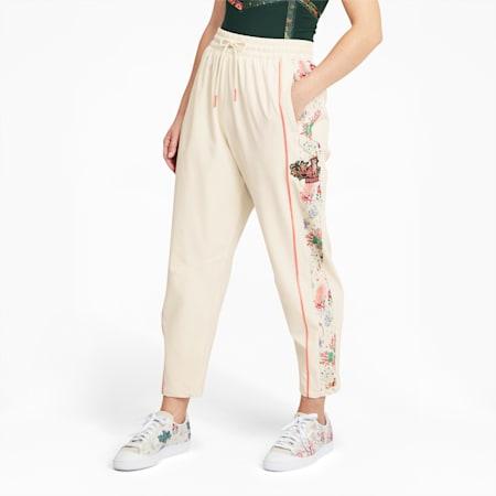 PUMA x LIBERTY Printed Women's Track Pants, Birch, small-GBR