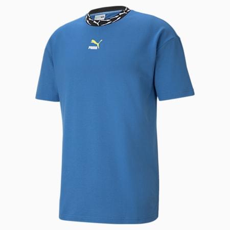 Camiseta de cuello redondo para hombre Elevate, Star Sapphire, small