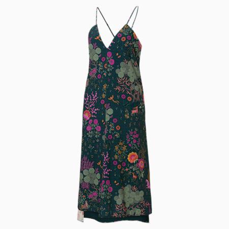 PUMA x LIBERTY Women's Dress, Green Gables-AOP, small-SEA