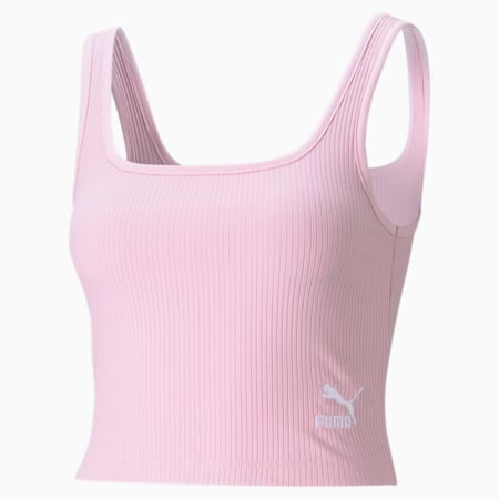 Classics Ribbed Women's Bralette, Pink Lady, small