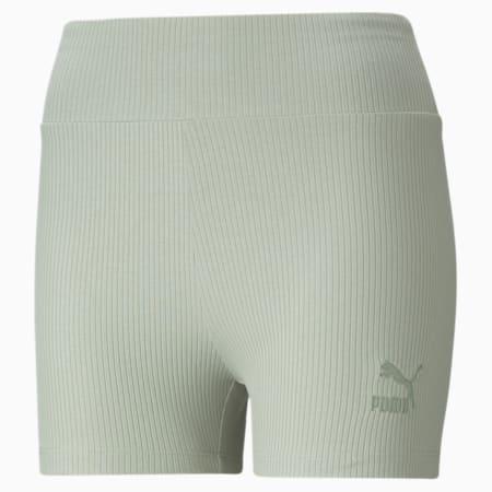 Classics Women's Ribbed Short Leggings, Desert Sage, small-GBR