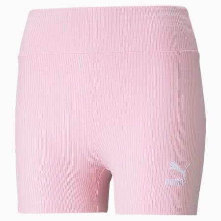 Classics Women's Ribbed Short Leggings, Pink Lady, small