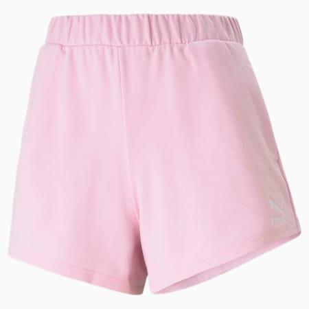 Classics High Waist Women's Shorts, Pink Lady, small