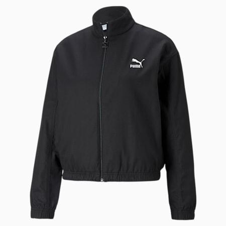 Classics Lounge Women's Jacket, Puma Black, small-GBR
