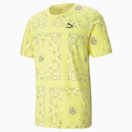 T-shirt imprimé OB homme, Celandine-AOP, small