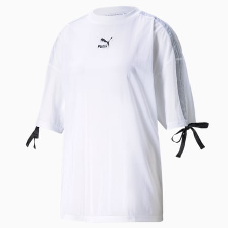 PBAE Mesh Damen T-Shirt, Puma White, small