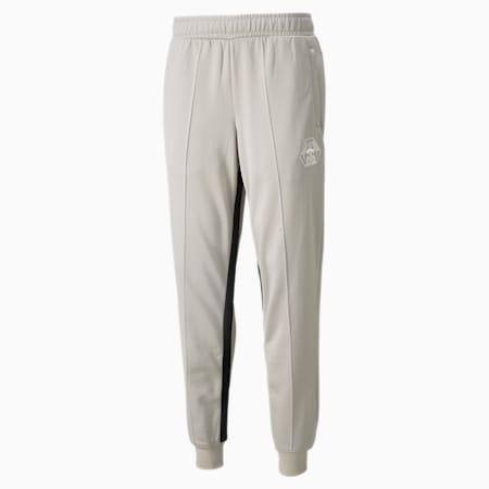 PUMA x RHUIGI Men's Basketball Track Pants, Oatmeal, small