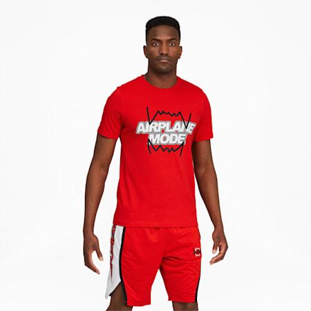 Camiseta de básquetbol Derrick Jonespara hombre, High Risk Red, pequeño
