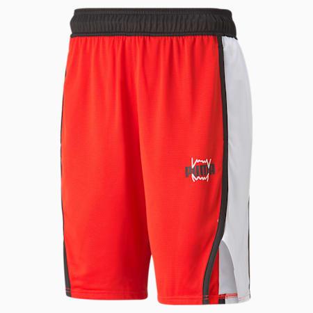 Derrick Jones Men's Basketball Shorts, High Risk Red, small-GBR