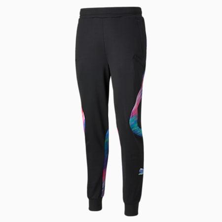 RKDO E7 Men's Esports Track Pants, Puma Black, small-GBR