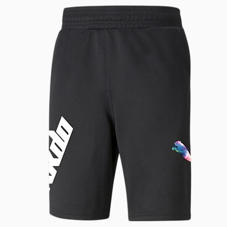RKDO Esports short van sweatstof voor heren, Puma Black, small