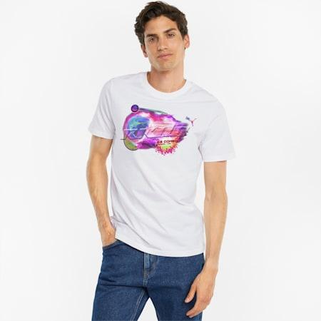Męska koszulka e-sportowa RKDO Graphic, Puma White, small