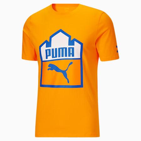 Camiseta PUMA x WHITE CASTLEpara hombre, Zinnia, pequeño
